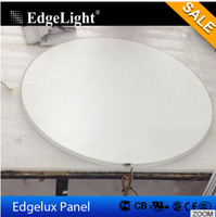 round shape acrylic RGBW color led strip light board for advertising and lighting
