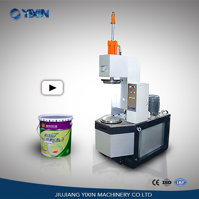 Yixin Technology Semi-automatic Drum Flanging Machine For ...