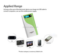 Mobile External Battery Charger USB Portable Power Bank 20000mah Made in China