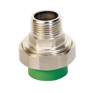 MADE IN CHINA FACTORY SUPPLY PROFESSIONAL STANDARD Green PPR pipe fitting 90 degree elbow Male Thread Union