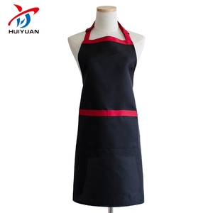 Wholesale blank cotton apron cheap custom kitchen cooking aprons