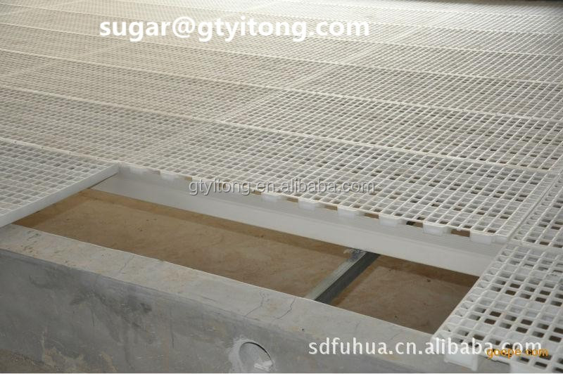 Plastic Slatted Poultry Floors 500x1200mm For Chicken Farm