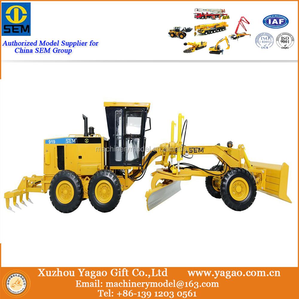 1:35 Replica Construction Model,Sem 919 Grader Scale Model ...
