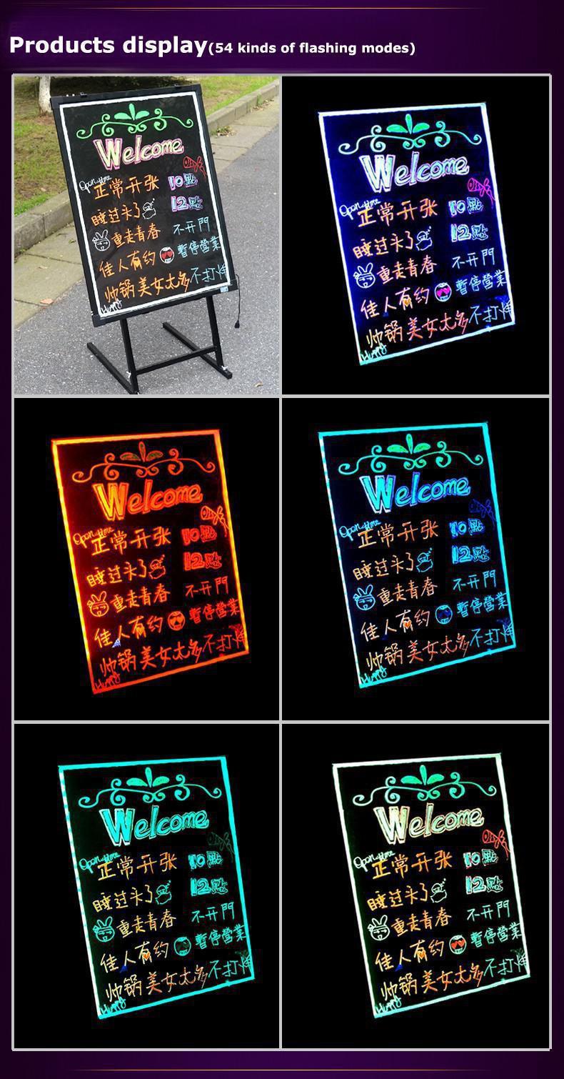 Led Frame Message Board