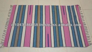 Indian Handmade Cotton Floor Carpet Rug Exporter Buy Decorative