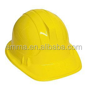 Builders Hard Hat Plastic Carnival Party Planet Hat HT2680