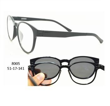 d223f2c2ec TR90 eyewear magnetic clip on sun glasses New design Ultem eye optical  frames eyewear glasses wholesale