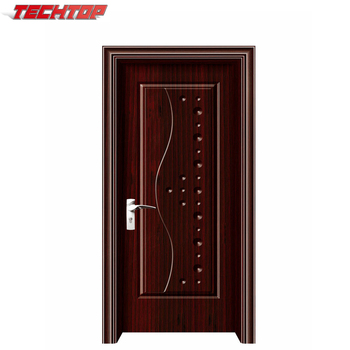 Wonderful Waterproof Wood Solid Sliding Wooden Door Fancy Door Design With Indian  Price TWP 117