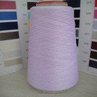 High quality 100% cotton dyed yarn for knitting