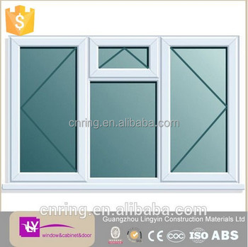 High quality modern design sliding door and top hung pvc windows and doors