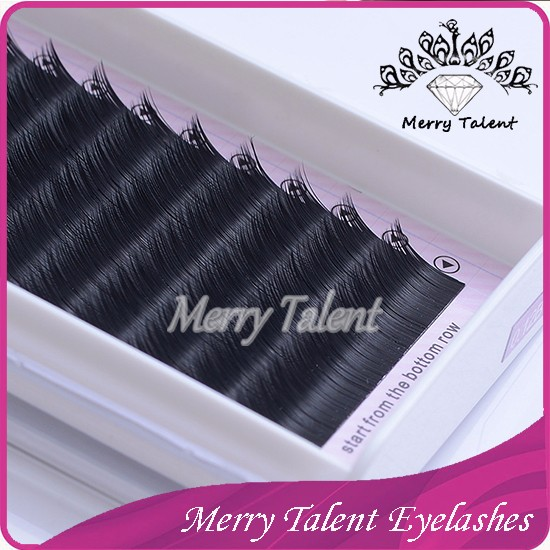 Premium Mink Eyelash Extension In Korea Lashes Individual 0.05/0.07/0.10mm Synthetic