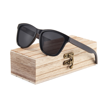 Fashion custom logo wood temple sun glasses 2019 wooden polarized sunglasses