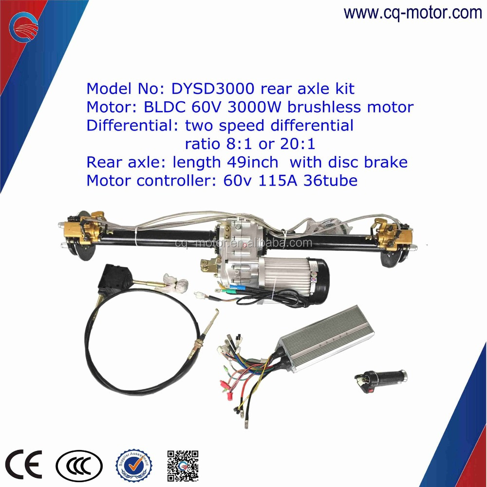 E Tricycle Complete Kitwithout Bodye Rickshaw Parts Axle Brushless Motor Controller Kit Bldc Control With Head Light Rim Tyre Spring Leaf Throttle Cq Buy Electric