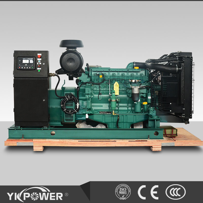 120KW VOLVO Diesel generator at 1500RPM open type