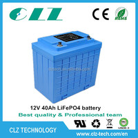 EV li ion / LiFePO4 battery pack 12V 24V 36V 48V 40Ah for ev
