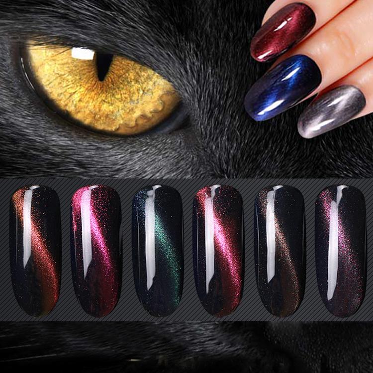 картинки с гель лаком на ногтях кошачий алюминий является наиболее