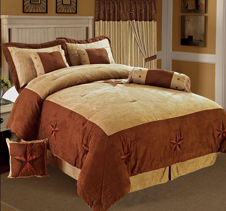 cabin mainstays sets set bag com a cabins comforter bedding walmart ip coordinating in bed