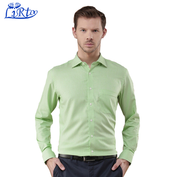 Stand Collar Shirts Designs : Factory price stand collar men s shirt cutting and sewing latest