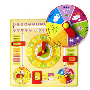 Madera Juguetes Educativo Juguete Reloj Aprendizaje aprendizaje Aprendizaje Buy De Montessori juguetes Juguete 4L5AR3jScq