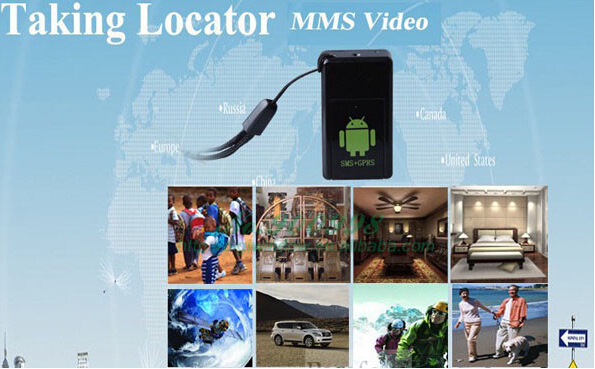 Mini Gsm Gps Tracker MMS Locator Photo Video Taking GPS Tracking Motion Detect for Kids Pets Elder Cars Anti Lost Alarm (GF08)