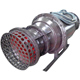 Horizontal farm irrigation submersible water pump