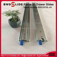 BWD3076L-44 42MM Cabinet Sliding Drawer Guides Slide Dining Table Extension Hardware