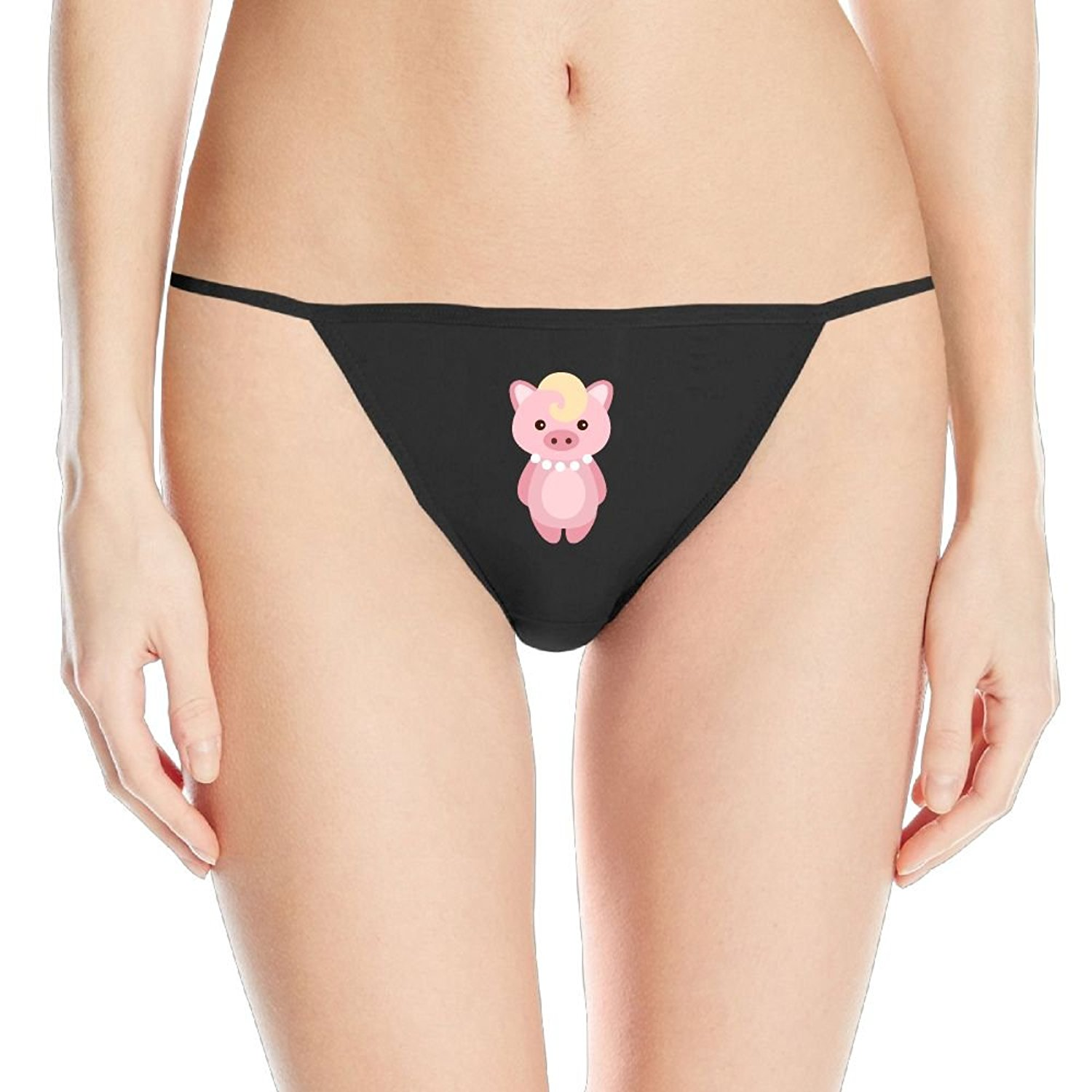 feb0efa4a Get Quotations · Pink Pig Women s T-String Lingerie Sexy Tangas Panties  Thong T-Back For Women