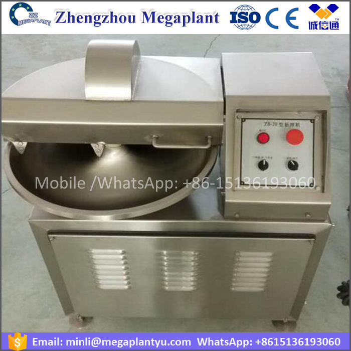 304 stainless Salad Meat bowl cutter chopper machine