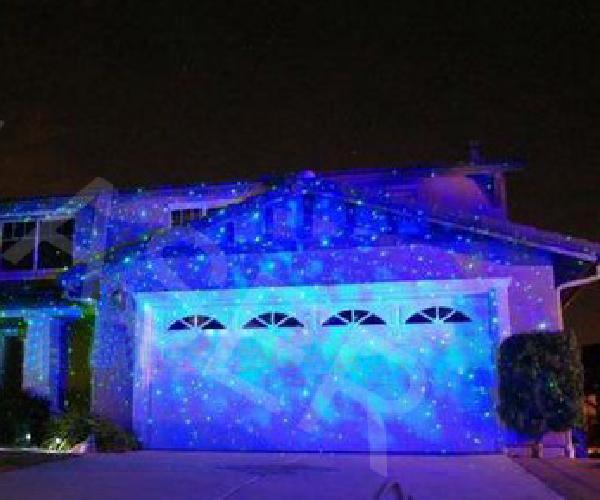 Maison de jardin en plein air la lumi re romantique for Spot eclairage facade noel