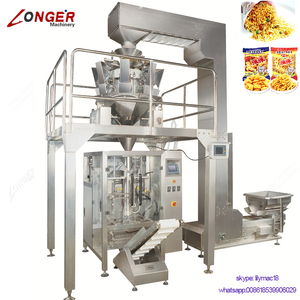 Hot Sale Multi Head High Speed 1Kg Rice Packing Machinery Dry Vegetable Banana Chips Packaging Machine For Nut
