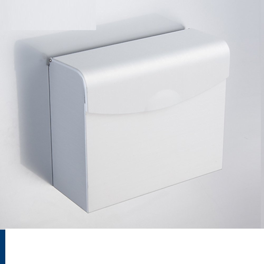 Bathroom waterproof toilet paper tray/Tissues/Hygienic tray/Space aluminum toilet paper holder/Tray/ toilet roll holder-A