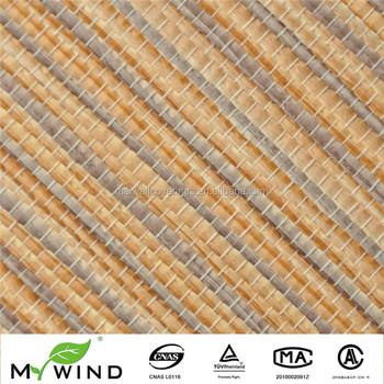 beautiful orange and brown stripe color wallpaper,natural materialbeautiful orange and brown stripe color wallpaper,natural material for restaurant interior decoration design