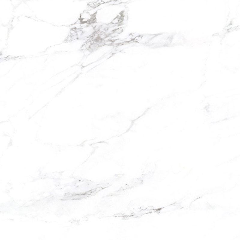 White Marble Look Granite Texture Glazed Porcelain Floor Tile Non Slip