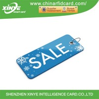 Rectangle mini Rfid Tag Nfc mini Card With Customized graphics
