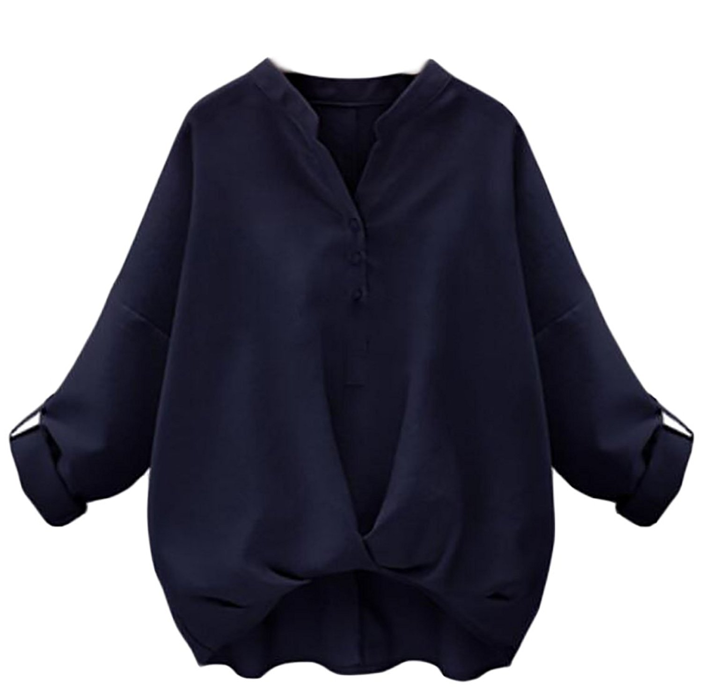 UUYUK Men Shirts Casual Loose Fit Business Long Sleeve Button Down Shirts