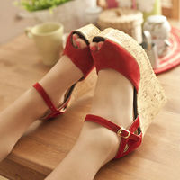 New arrival Beautiful Wedge wedding Shoes Cheap Women Wedges Shoes