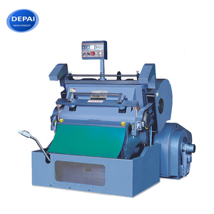 PVC PP PE Plastic Sheet Heating Die Cutting and Creasing Machinery