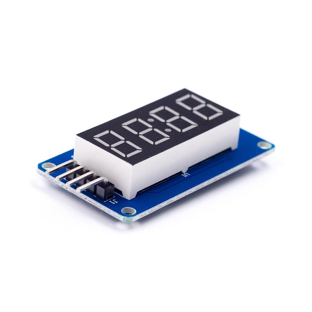 TM1637 LED Display Module 7 Segment 4 Bits 0.36 Inch Clock RED Anode Digital Tube Four Serial Driver Board LED Display Module