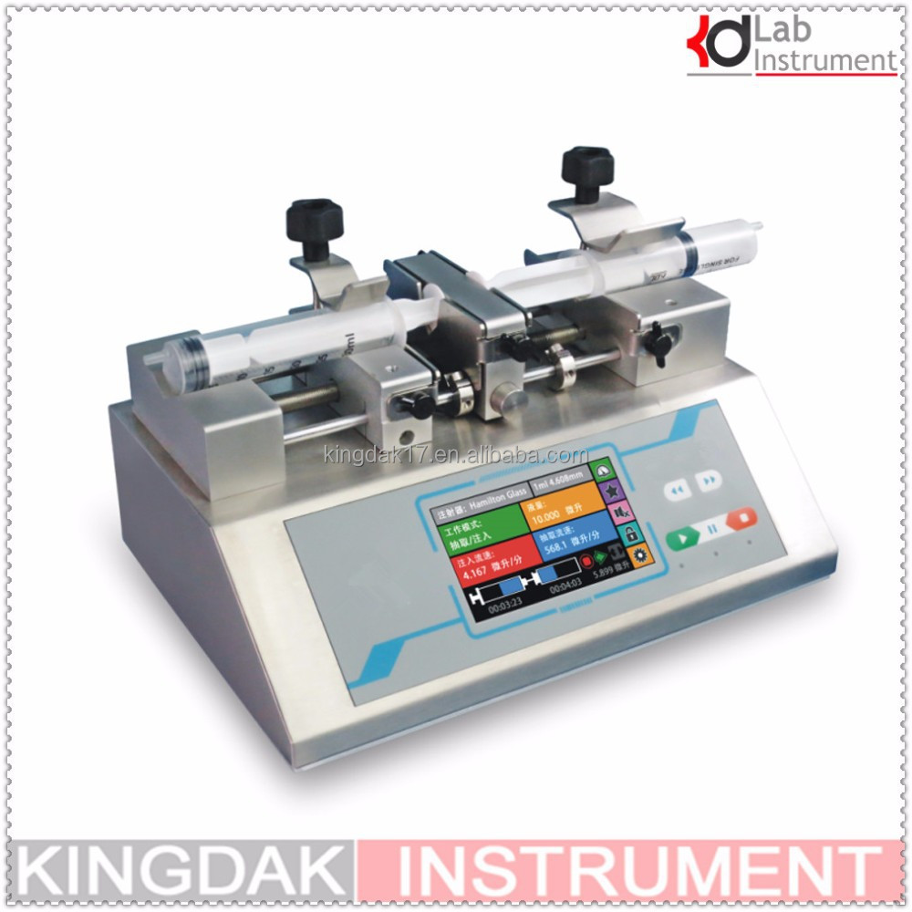 TSD01-03 Portable infusion syringe pump with CE&ISO certificate