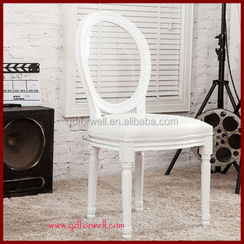 Luxury Unfinished Furniture Chairs Purple Fabric Louis Chair Modern Chairs
