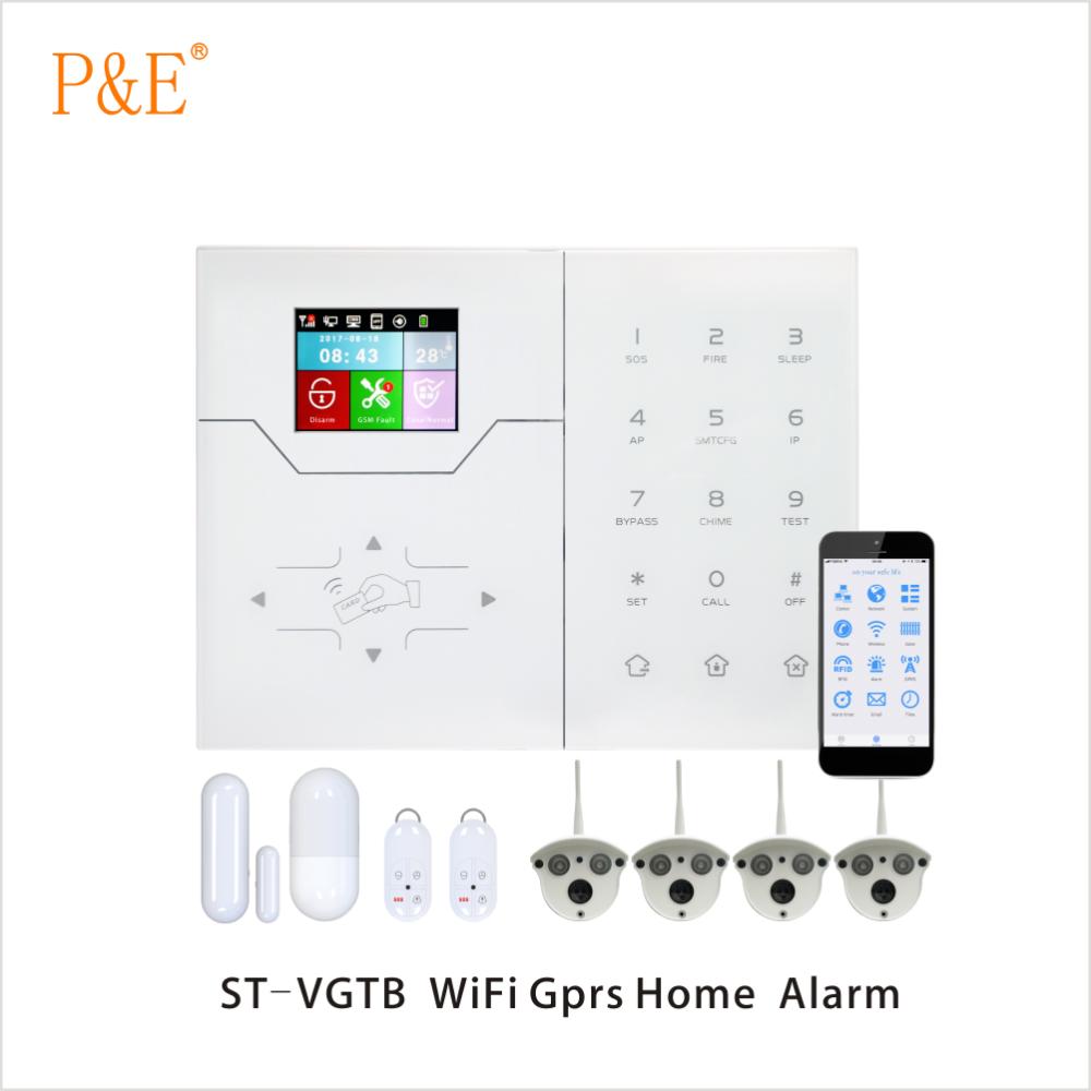 Diy Smart Wireless Burglar Alarm System Android Ios App Controlrfid Home Alarmas De Hogar Buy Focus Rfid Systemgsm