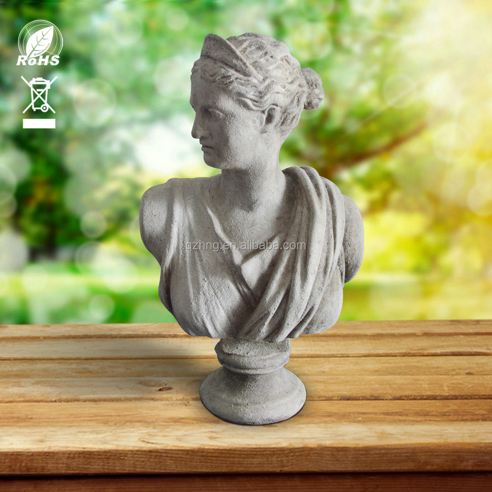 Roman Greek style Classic modern home and garden Ornament venus bust statue