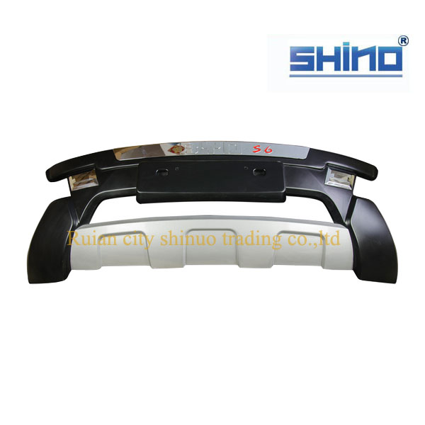 Wholesale Chinsese car BYD auto spare parts of BYD S6 Front bumper warranty 1 year