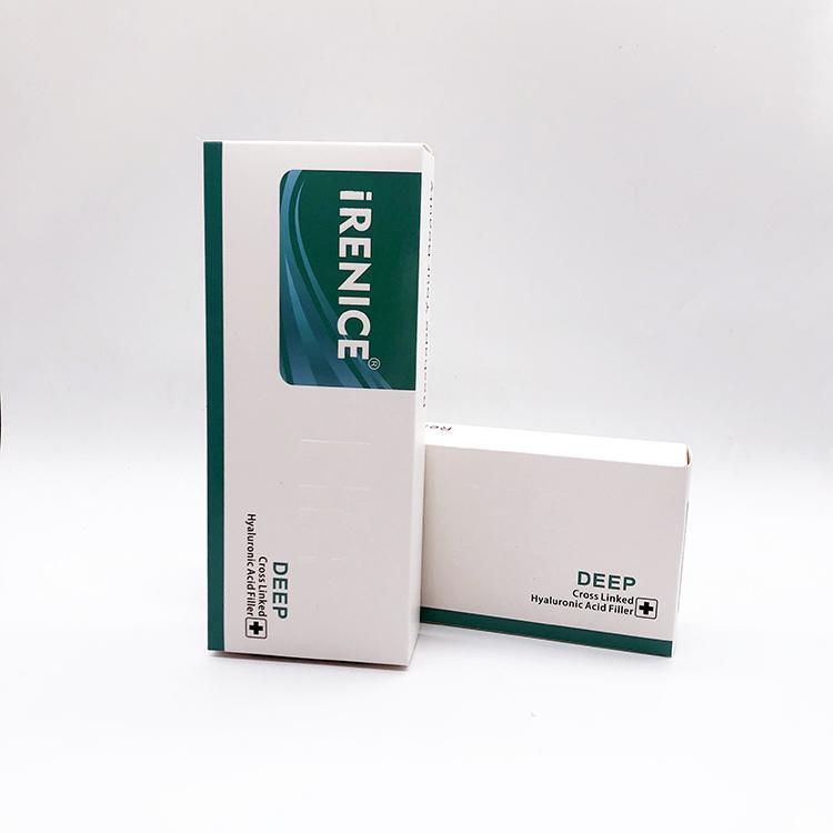 2ml iRENICE cross-linked anti aging hyaluronic acid dermal filler ha injectable facial filler, Transparent