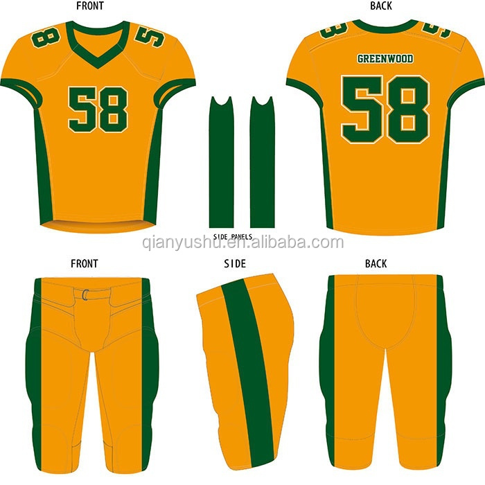 Tackle Twill Customized American Football Jerseys Ss299