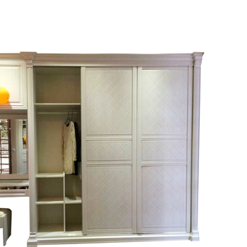 New design sliding door bedroom wardrobe design wood wardrobe cabinet