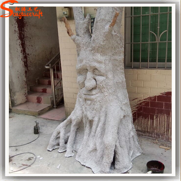 Fiber Glass Artificial Tree Trunk Could Be Customized Any