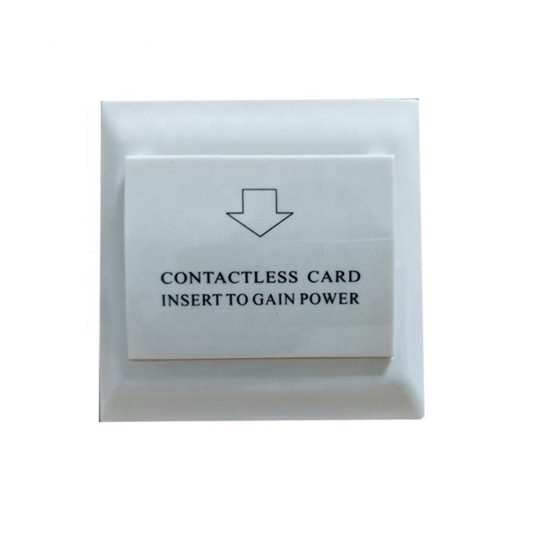 High Quality 86MM Square Smart Key Card Hotel Energy Saving <strong>Switch</strong>