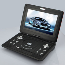 "10.1"" Portable DVD Player,3Hours Rechargeable Battery, Swivel Screen, Supports SD Card and USB, Direct Play in Formats MP4/AVI/R"