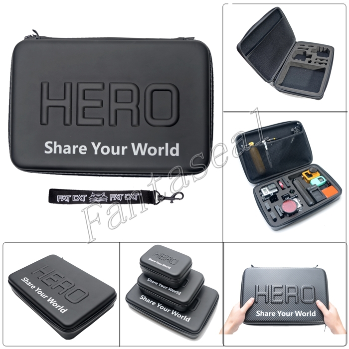 2014 New Hot Gopro HD Hero Bag Anti-shock EVA Protective Case (13 Inch Size)